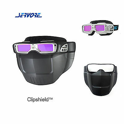 SERVORE Arc Shiled Mask Auto Shade Welding Goggles ARC-513