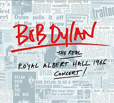 BOB DYLAN 'THE REAL ROYAL ALBERT HALL 1966 CONCERT' Double VINYL LP (2016)