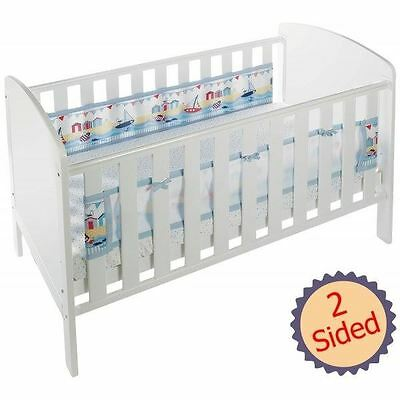 Breathable Baby 2-Sided Mesh Cot Liner - By The Sea