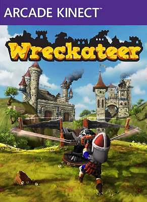 Xbox 360 Wreckateer Full Game Digital Download Code (Requires Kinect)