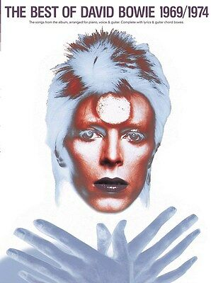 David Bowie Best Of 69-74 Piano Vocal Guitar