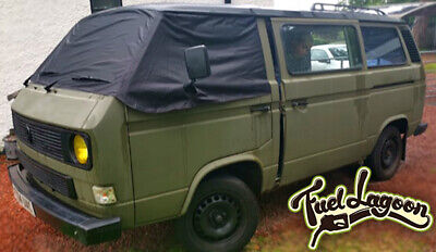 VW T25 cover windscreen wrap black out camper frost protection window Camping