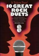 IT TAKES TWO 10 Great Rock Duets BOOK & 2 CDs
