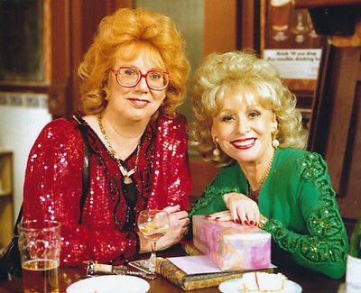 Anna Karen and Barbara Windsor UNSIGNED photo - G100 - EastEnders