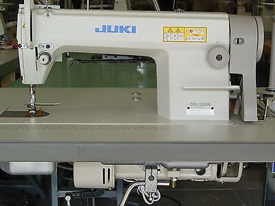 Juki Ddl-5550N Single Needle Industrial Sewing Machine New Complete &servo Motor