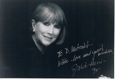 Juilie Harris - Britsh Actress Harry Potter  Hand Signed Photograph 7 x 5