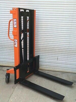 Brand New HAND STACKER Manual Hydraulic Stacker 1.5T 2000mm pallet truck