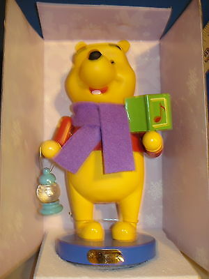 Nutcracker Wooden Winnie the Pooh with a Lantern 12 inches 6806  240