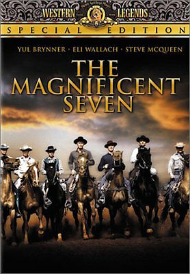 The Magnificent Seven Dvd - Single Disc Edition - New Unopened - Steve Mcqueen