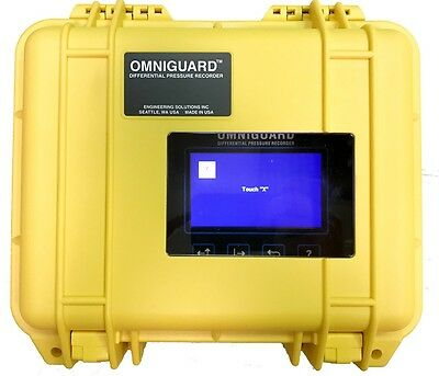 OmniGuard 5 Differential Pressure Recorder Cellular Modem Manometer