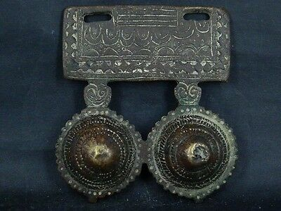 Ancient Bronze Pendant Islamic 1200 AD   #GL1519