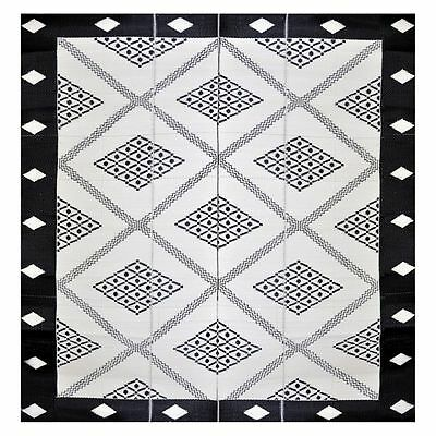 NEW FAB Rugs Troy Square Plastic Outdoor Rug