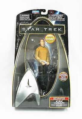 "Star Trek Captain Capt Kirk 6"" Action Figure 2009 Warp Collection PLAYMATES New"