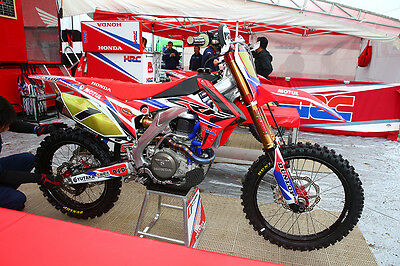 Factory Honda HRC 2016 Graphics KIT Customised motocross (fit other years)