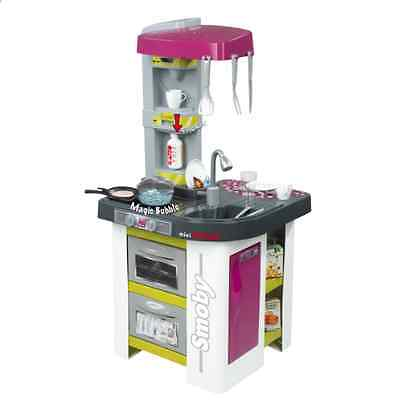 NEW Smoby Studio Kitchen Playset Kids Cooking Toys Childrens Gift Ideas Cook Toy