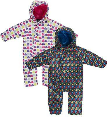 Trespass Breezy Babies Snowsuit Girls Boys Insulated All-in-one