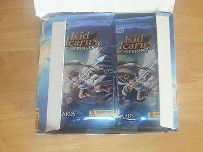 New Sealed 10 Packs 60 Cards Kid Icarus Uprising Booster Nintendo 3Ds Panini