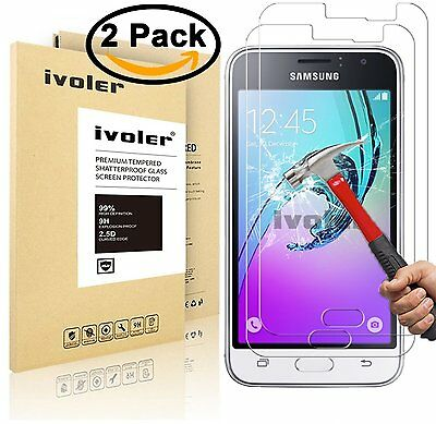 [2-Pack] Samsung Galaxy J1 2016 Protection écran , iVoler Film Protection d'éc
