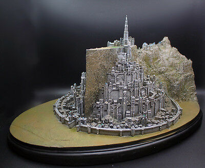 MINAS TIRITH MODEL statue city The Lord Of The Rings Lotr big size Handmade home