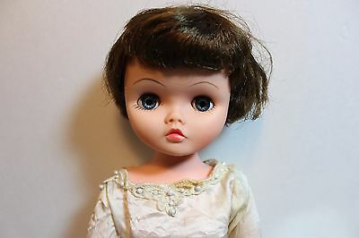 "1950's High Heel Fashion Doll CANDY BRIDE Type 22"" brunette"