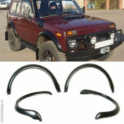 LADA extension Fender Flares 4х4 NIVA 2121 - 21214