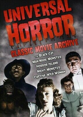 Universal Horror: Classic Movie Archive [2  (2009, DVD NEW) Halloween Candy Cash