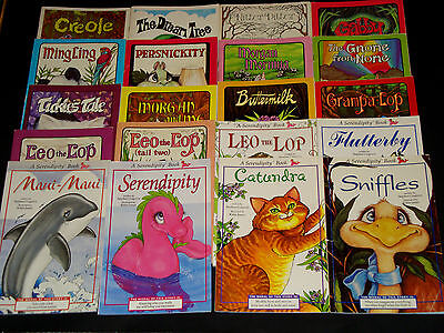 Lot - 20  Stephen Cosgrove Robin James Serendipity Books - Softcover - Morals