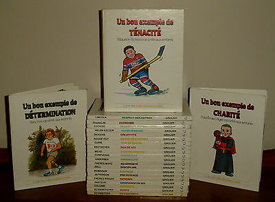 Lot - 23 FRENCH Value Tales Books - Belles Histoires Vraies HTF  HC Complete Set