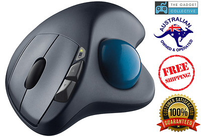 Logitech Wireless Trackball Mouse & Unifying Receiver for PC/Mac M570 Brand New