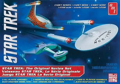 AMT - STAR TREK CADET SERIES TOS ERA SHIP (3-in-1) KIT [AMT763] - GALAXY RC