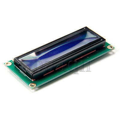 HD44780 1602 LCD DISPLAY MODULE  BLUE Backlight 16X2 PIC for Arduino AVR MA