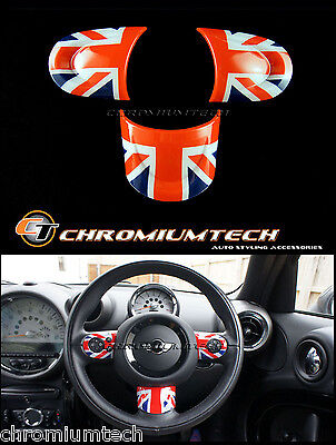 MINI Cooper R55 R56 R57 R58 R59 R60 R61 Union Jack NON MF Steering Wheel Cover