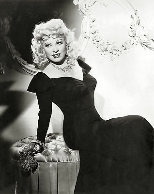 Mae West Film Actress Glossy Black & White Photo Picture Print A4