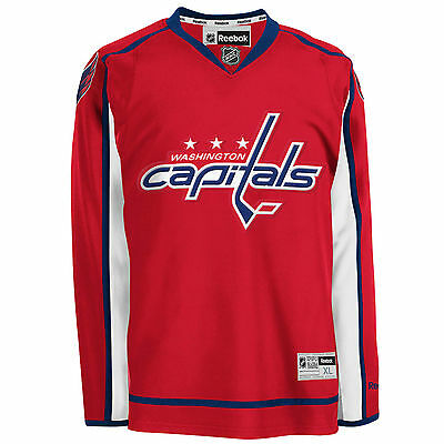 NEU REEBOK WASHINGTON CAPITALS CAPITA OVECKIN TRIKOT Größe - Junior