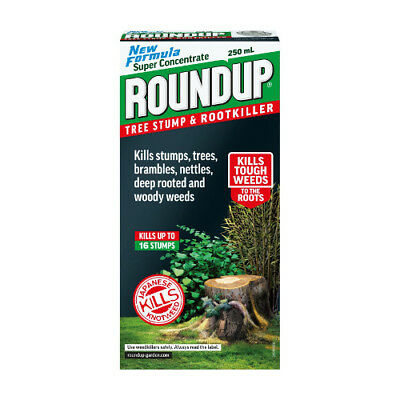 NEW Roundup Tree Stump and Rootkiller 250ml