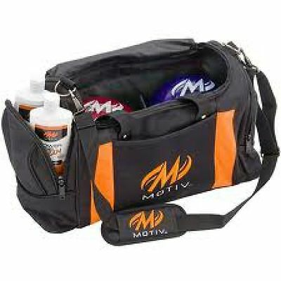 Bowling Motiv Deluxe Double Tote orange