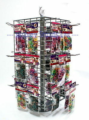 Rotary 4 Sided Mesh Panel Counter Retail Display Stand (K71)