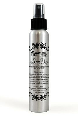 Divine Collection Breast Form/Wig Stay Dry Sweat Barrier Spray 4 oz.
