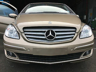 2006 Mercedes B Class W245 Front End Set Bumper Grill Lights Wings Bonnet