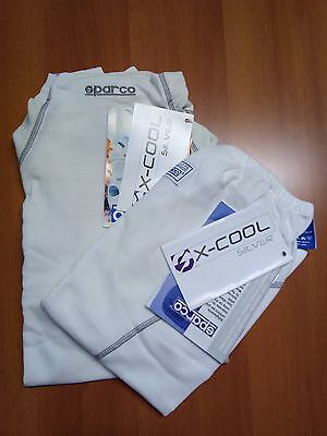 Sparco Ice X-Cool Underwear Racing Fia 8856-2000 X-Cool Size S Rally Nomex Fia