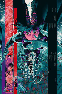 Ghost in the Shell Martin Ansin Mondo Anime Movie Poster Print Limited Scarlett