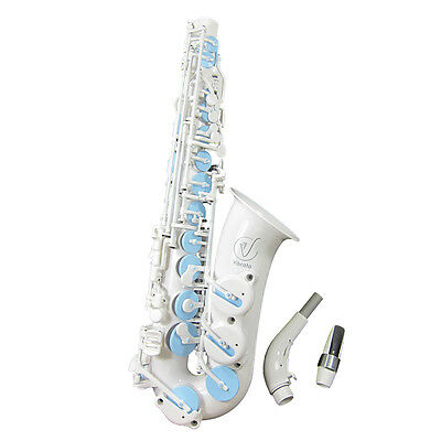 VIBRATO Sax Professionale A1 SII total Bianco whole white last one in the world