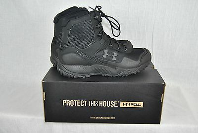 Under Armour Valsetz RTS Tactical Boots Mens Black Stealth Authentic New
