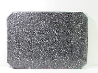 "Acrylic In/outdoor Restaurant Table Top 28"" X 20"" X 1"" Black Granite ***nnb***"