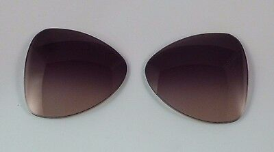 9676b53d4b New Authentic Sunglass Lens Replacements PRADA PR 60SS Gray Brown Gradient  55mm