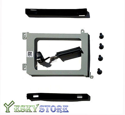 NEW Dell XPS 15 9550 Precision 5510 XDYGX HDD Cable + Caddy +Rubber Rail US