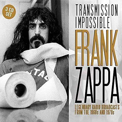 Frank Zappa 'Transmission Impossible' (New 3CD)