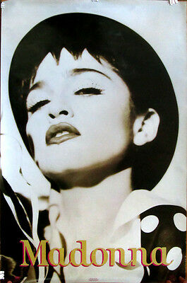 Rare Madonna The Immaculate Collection Herb Ritts Winterland Boy Toy Poster 1990