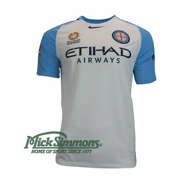 Melbourne City FC 2016/17 Men's Home Football Jersey by Nike