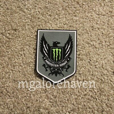 RARE Sponsored Athlete Only Monster Army Energy Patch
